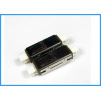 Wholesale MU Single Mode Simplex Fiber Optic Adapters 0.35dB With Beige Housing Sleeve Tube from china suppliers