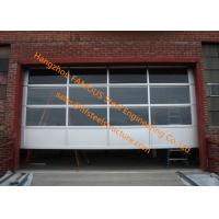 Wholesale Motorized Aluminum Insulated Tempered Glass Full View Overhead Garage Door from china suppliers