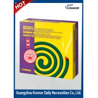 China Hotel Smokeless Mosquito Coil , Plant Fiber Mosquito Repellent Coil on sale