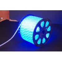 China Super Bright 220V AC RGB Color Changing Led Rope Light 2.5W / Meter For Walkways on sale