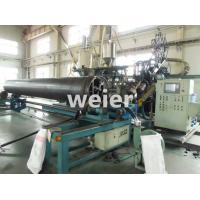 HDPE Pipe Production Line / Extrusion Machine For HDPE Winding Wall Pipe