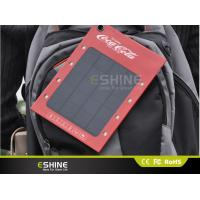 Wholesale Energy saving 500mA solar powered charger color customized with OEM Logo Ads from china suppliers
