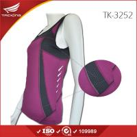 China Australia market Cheap Women reflective running vest on sale