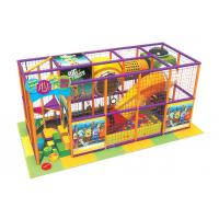Wholesale Plastic Indoor Child Playground Equipments with PVC Soft Leather Case A-09102 from china suppliers