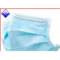 Wholesale Colored Medical Non Woven Fabric , Disposable Face Mask Non Woven Cloth Antimicrobial from china suppliers