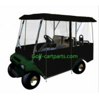Wholesale 4 Passenger Golf Cart Winter Enclosure Black Golf Cart Plastic Covers from china suppliers