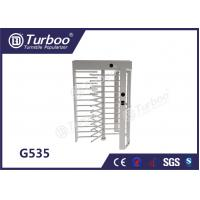 Wholesale CE Approved Full Height Turnstile Revolving Door 30 Persons / Min Transit Speed from china suppliers