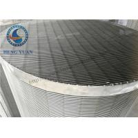 Wholesale Large Diameter Profile Wire Screen Pipe Stainless Steel For Water FIlter from china suppliers