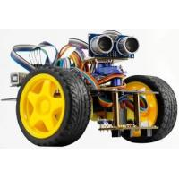 Buy cheap 2WD Drive Smart Arduino DOF Robot Ultrasonic Obstacle Avoidance / Line Tracking from wholesalers