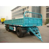 Wholesale 6443LX-Draw Bar Plate Form Trailer-3axles from china suppliers