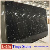 Wholesale Elegant Polished Black Marble Slab With Flower Veins For Luxury House from china suppliers
