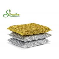 Wholesale PET Non Abrasive Scouring Pad Kitchen Cleaning Tools No Rust Chemicals Free from china suppliers