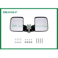 Wholesale Foldable Golf Cart Side Mirrors With LED Light / Golf Buggy Accessories from china suppliers