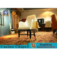 Wholesale Oak Wooden Custom Gambling Poker Table Chair Commercial Furniture from china suppliers