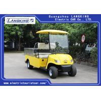 China Customized Cargo Box Electric Delivery Van, 2 Seater Utility Electric Car Used Hotel on sale