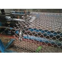 China Residential / Commercial Chain Link Fence Fabric 6 Feet Height Durable on sale