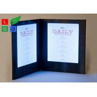 Wholesale Customized Made LED Shop Display Stain Resistant For Restaurant Menu Display from china suppliers