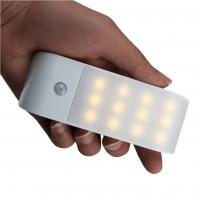 China Wireless Infrared Wall LED Night Light, USB Rechargeable Motion Sensor Light on sale
