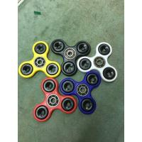 Wholesale 2017 Hot Sale Fidget Spinner, Red Color Plastic Material Fidget Spinner Cheap Spinner with 608 Bearing Fidget Spinner from china suppliers