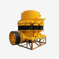 Wholesale 50tph Cone Crusher Machine , Impact Small Cone Crusher For Limestone from china suppliers