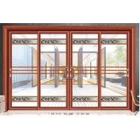 Wholesale Large Outdoor Residential Glass Sliding Doors Aluminium Frame 5mm+6A+5mm from china suppliers