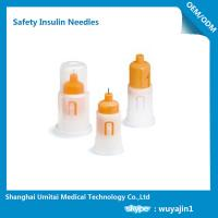 Wholesale Customized Insulin Pen Safety Needles , Safety Pen Needles For Lantus Solostar Pen from china suppliers
