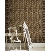 Wholesale 23x23x8mm Coconut shell 3 Feet Natural Fibre Wallpaper from china suppliers