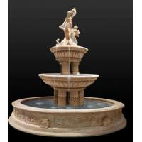 Wholesale Hot Sale Outdoor Natural Stone Marble Water Fountain Price Statue from china suppliers