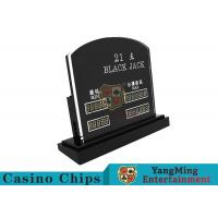 Wholesale Blackjack Casino Table Games LED Electronic Bet Limit Sign With Customized Style from china suppliers