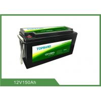 Buy cheap 12V150Ah Bluetooth Lithium Battery High Discharge Rate Lifepo4 Material Series from wholesalers