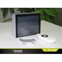 Wholesale Silver Hotel Villa Remote Control Solar Lights with 53LEDs and Aluminum Frame from china suppliers