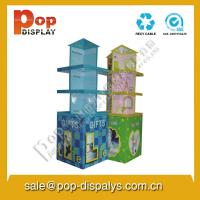Marketing Pallet Display Stands , Cardboard Display Boxes Manufactures