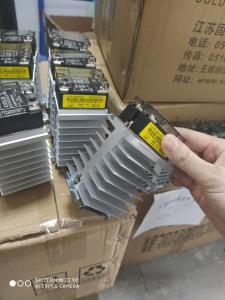 Wholesale Gold 48-600VAC SSR Heatsink from china suppliers