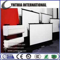 Wholesale Cynthia Screen 84 inch 4:3 3D Floor Stand Projection Screen Portable Projection Screen from china suppliers