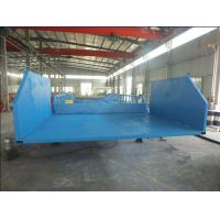 Wholesale Dock large loading and unloading good hydraulic mobile yard ramp from china suppliers