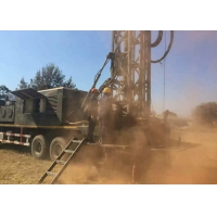 Buy cheap Hydraulic Top Head Drive 15000 Nm Truck Mounted Drill Rig from wholesalers