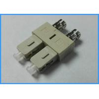 Wholesale Duplex Plastic Fiber Optic Adapters LC / UPC Female to SC / UPC Male from china suppliers