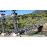 Double Lane Bailey Suspension Bridge Compact With Portable Steel Manufactures