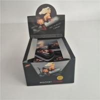 China Custom Printed PVC Counter Cardboard Packaging Boxes Candy Bar With Aluminum Mint Tins on sale