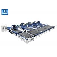 Wholesale One Plus Four Type Cabinet Production Line Plc Control For Pvc Film Doors from china suppliers