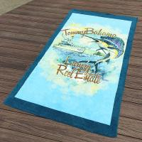 Wholesale Custom California Printed Towels Swimmingwear 30x60  10lbs Accessories Promote from china suppliers