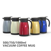 Wholesale Multi Color 68 Oz BSCI Vacuum Insulated Teapot from china suppliers