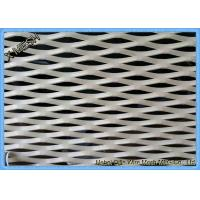 China Aluminum Expanded Metal Grating For Decoration Material SGS Approved on sale