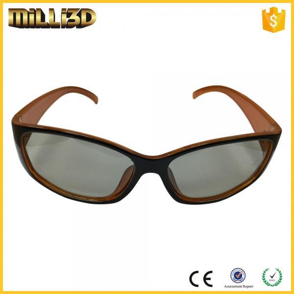 circular polarization 3d glasses lens material