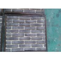 China OEM Solid SurfaceFaux Exterior Brick With Rustic Color Enviromentall Friendly on sale