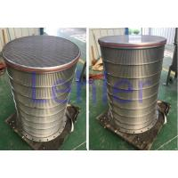 Wholesale Slotted Stainless Sieve Screen , 75 Micron Stainless Steel Mesh Filter Baskets from china suppliers