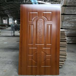 China New design MDF Melamine mould skin door for interior design on sale