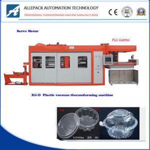 China Plastic Box Container Thermoforming Machine Energy Saving Servo Motor Control on sale