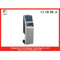 19 Inch LED Touch Screen Bill Payment Kiosk Safety For Outdoor Indoor Manufactures