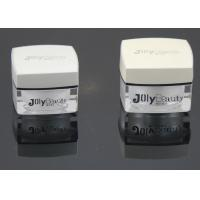 Wholesale Black Edge Square Plastic Cream Jars / Face Cream Containers  from china suppliers